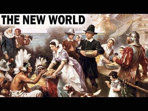 American history: the new world   colonial history of the united states of america   documentary