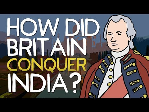 How did britain conquer india?   animated history