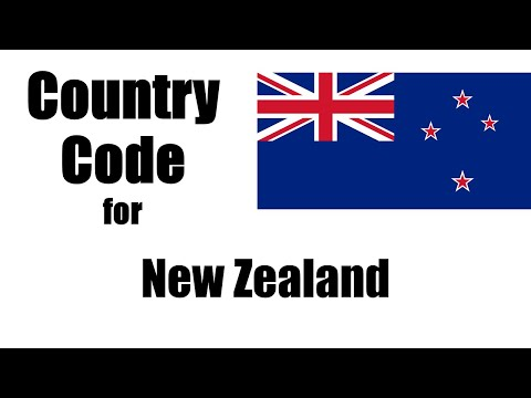 New zealand dialing code - new zealander country code - telephone area codes in new zealand