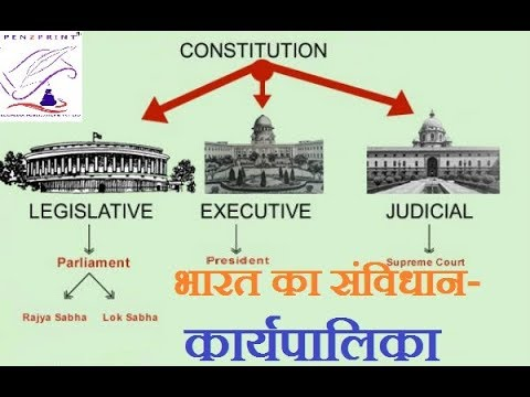 Executive branch of government of india in hindi i संघीय कार्यपालिका
