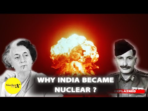 Why india became nuclear ? the untold story   india nuclear history   siachenx files