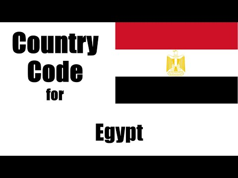 Egypt dialing code - egyptian country code - telephone area codes in egypt