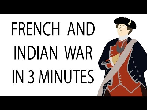 French and indian war   3 minute history