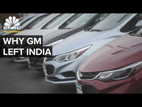 Why gm failed in india