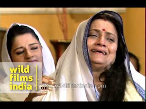 Rukmini has to shave off head and lead a drab life after her husband's death