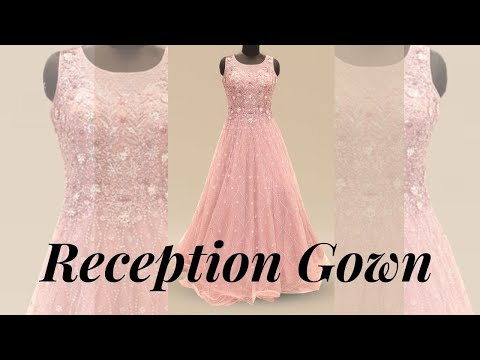 Reception/engagement gowns | indian bridal gown party wear gown | mangaldeep