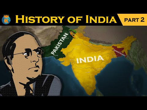 The history of india in 14 minutes - part 2