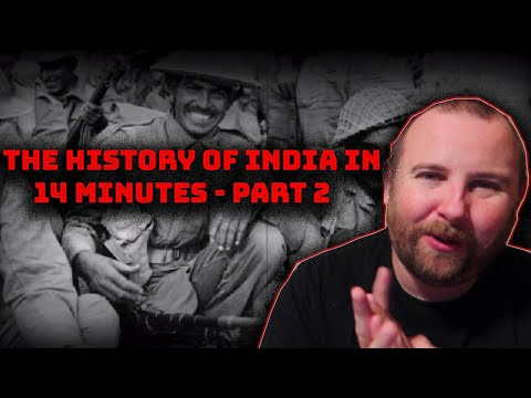 The history of india in 14 minutes - part 2 reaction!!